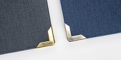Spiralbindung Hardcover  - Buchecken