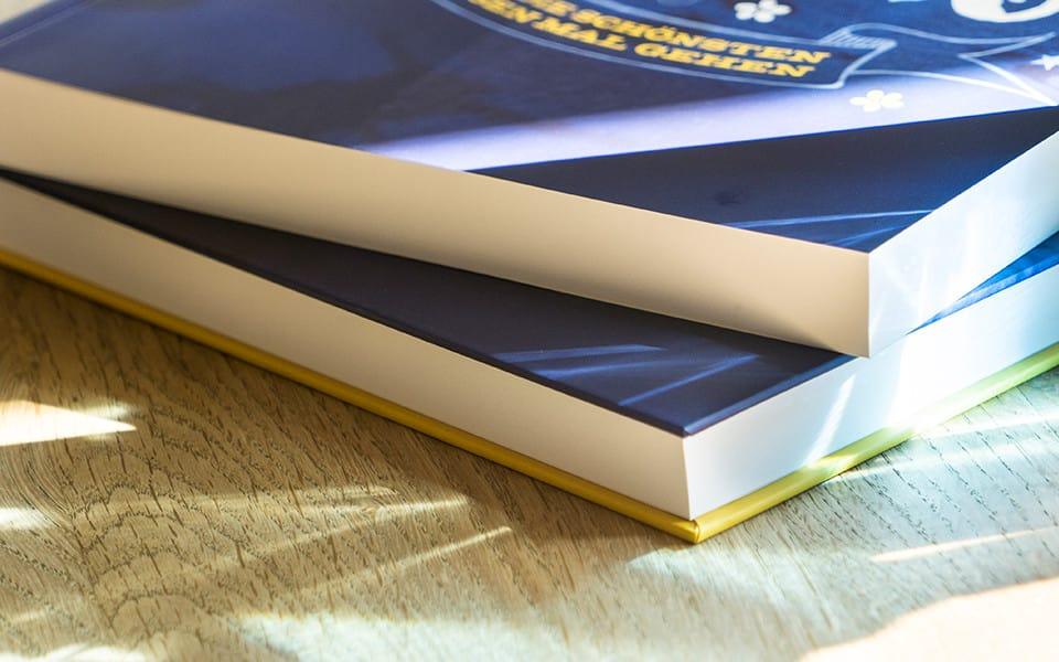 Abibuch drucken als Hardcover Bindung