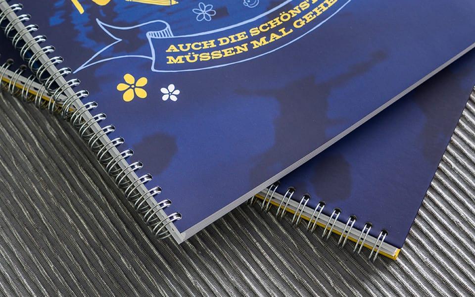 Abibuch Spiralbindung Hardcover